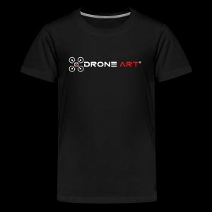 Drone Art - The Art of Building Drones - Kids' Premium T-Shirt