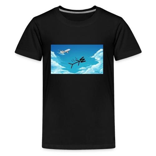 Skydiving W - Kids' Premium T-Shirt