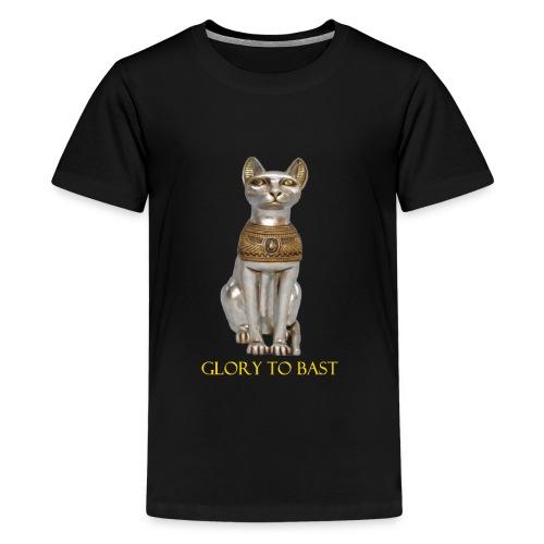 Glory to Bast - Kids' Premium T-Shirt