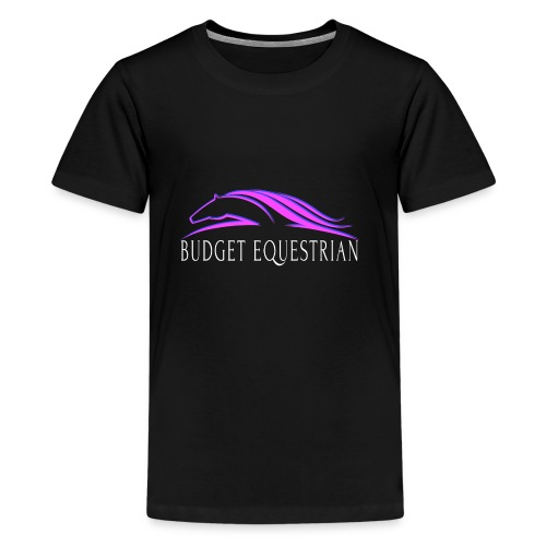 Budget Equestrian Logo - Kids' Premium T-Shirt