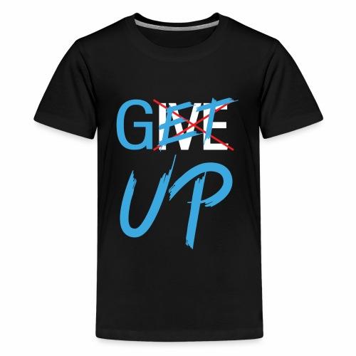 Black White Get UP - Kids' Premium T-Shirt