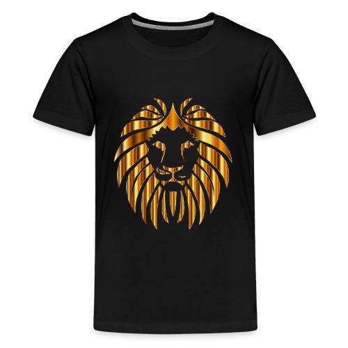 Golden Lion 10 No Background - Kids' Premium T-Shirt