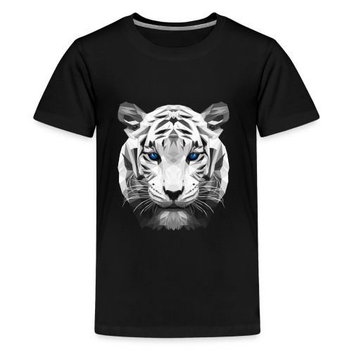 Tiger low poly - Kids' Premium T-Shirt