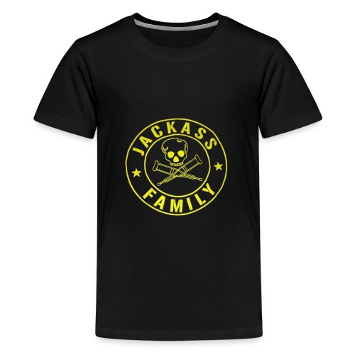 The official jackass family shirt - Kids' Premium T-Shirt