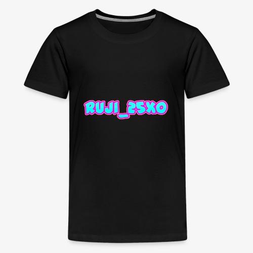 Ruji_25xo Text - Kids' Premium T-Shirt