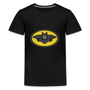 IAMBATMAN BEAM CHANNEL LOGO - Kids' Premium T-Shirt