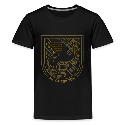 simorgh badge - Kids' Premium T-Shirt
