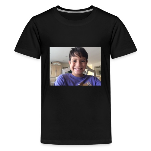 OwenGamer513 the smile is real - Kids' Premium T-Shirt