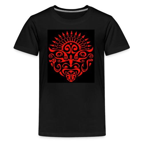 maori face - Kids' Premium T-Shirt