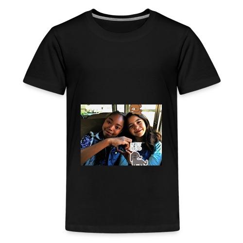 Alana and Sophia's crazy videos - Kids' Premium T-Shirt