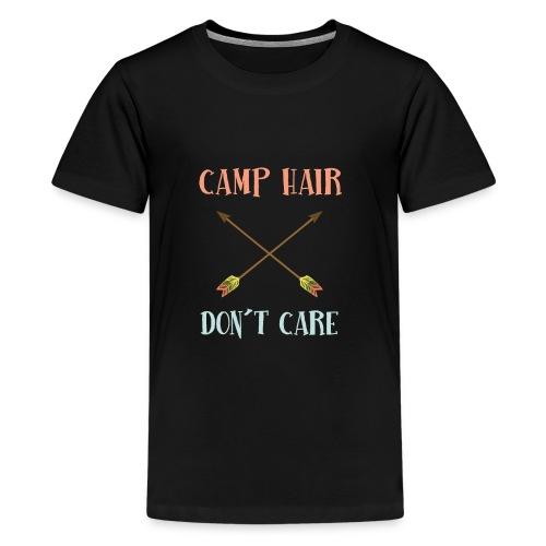 camp hair dont care t-shirt - Kids' Premium T-Shirt