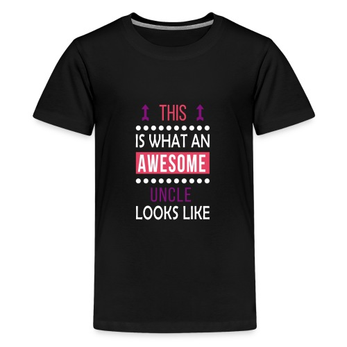 Uncle Awesome Looks Like-Birthday/Christmas Gift - Kids' Premium T-Shirt