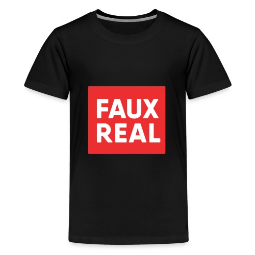 Faux Real Red - Kids' Premium T-Shirt