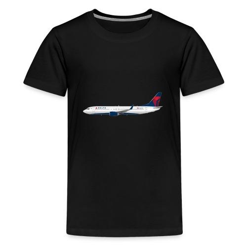 Delta Pooplines - Kids' Premium T-Shirt