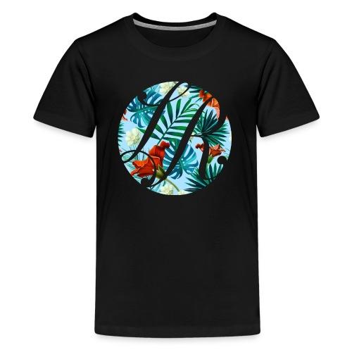 Hawaiian Print La Rosa Realty Logo - Kids' Premium T-Shirt