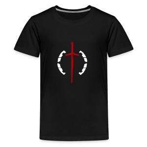 Faction Sword Logo V1 - Kids' Premium T-Shirt