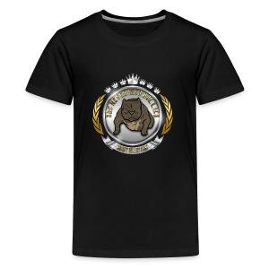 Logo Exotic Bully Design - Kids' Premium T-Shirt