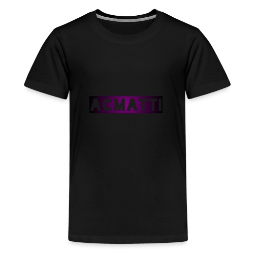 Simple ACMATTI - Kids' Premium T-Shirt