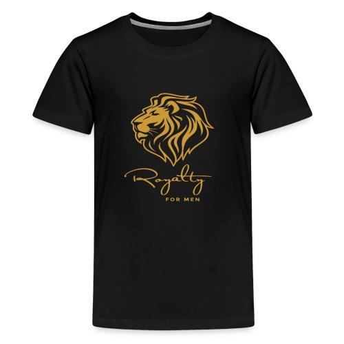 Royalty_For_Men_Logo - Kids' Premium T-Shirt