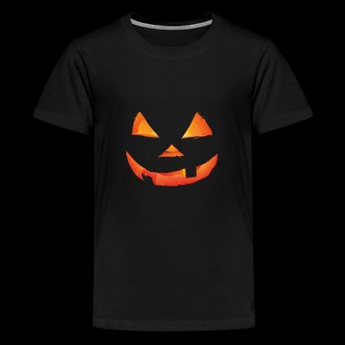 The Scary Pumpkin Halloween T shirt - Kids' Premium T-Shirt