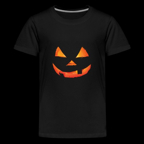 The Scary Pumpkin Halloween T shirt - Kids' Premium T-Shirt