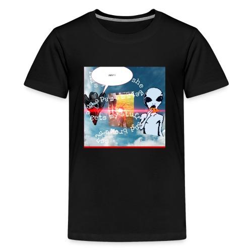 1AADD5D5 C3C4 484F A7D3 BC9CE12610CF - Kids' Premium T-Shirt