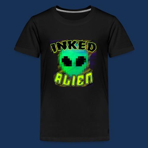 Inked Alien Logo Shirt #1 - Kids' Premium T-Shirt