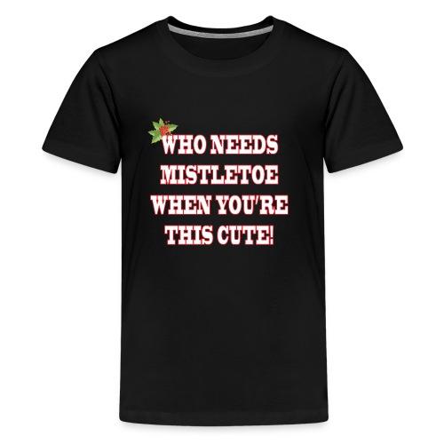 MISTLETOE - Kids' Premium T-Shirt