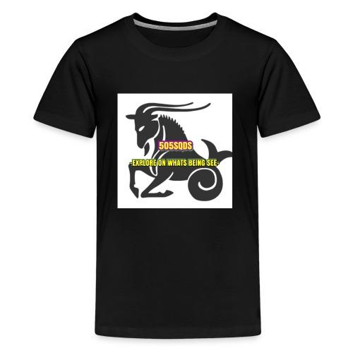 PURE CAMO CAPRICORN *505SQDS - Kids' Premium T-Shirt