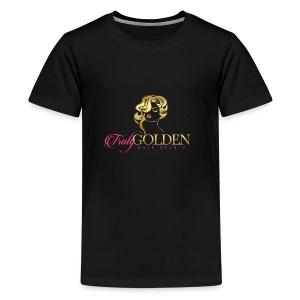 TrulyGolden Hair Studio - Kids' Premium T-Shirt