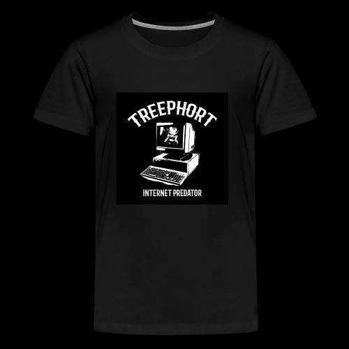 TREEPHORT: INTERNET PREDATOR MOTIF! - Kids' Premium T-Shirt