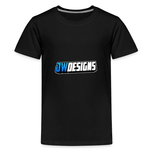 JW Designs Logo - Kids' Premium T-Shirt