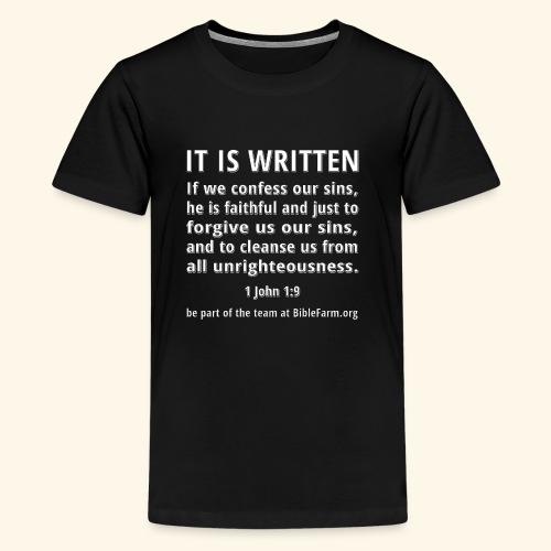 sample bible verse - Kids' Premium T-Shirt