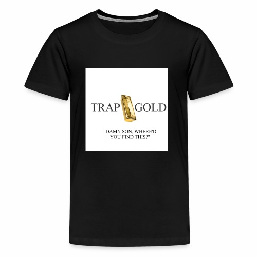 trap gold logo - Kids' Premium T-Shirt