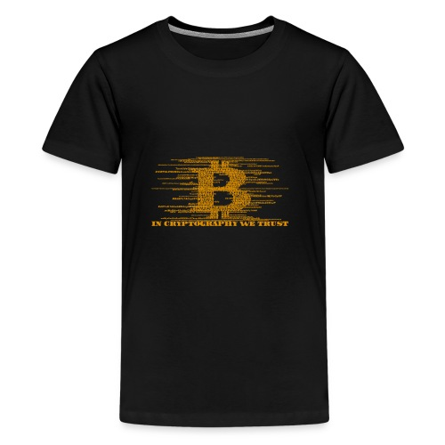 IN CRYPTOGRAPHY WE TRUST - Kids' Premium T-Shirt