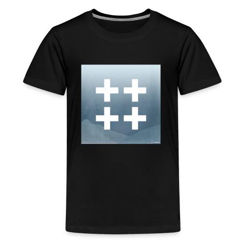 Plus plus plus plus - Kids' Premium T-Shirt