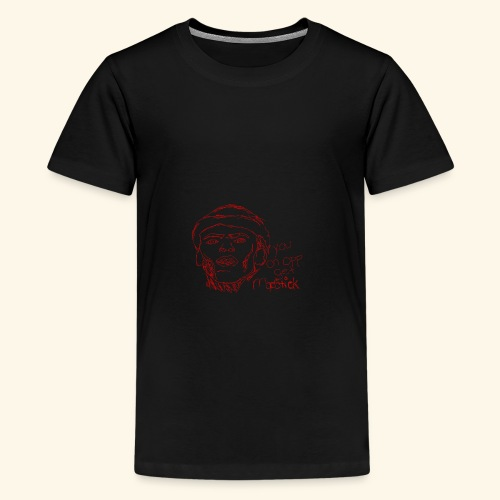 lud foe mopstick 1red - Kids' Premium T-Shirt