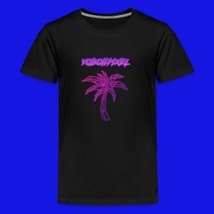 pink fire - Kids' Premium T-Shirt