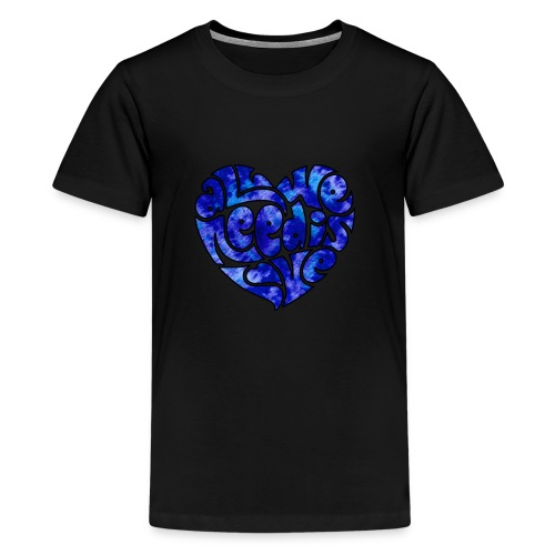 Hippie's Heart - Kids' Premium T-Shirt