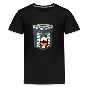 Trash Mouth Large Logo - Kids' Premium T-Shirt