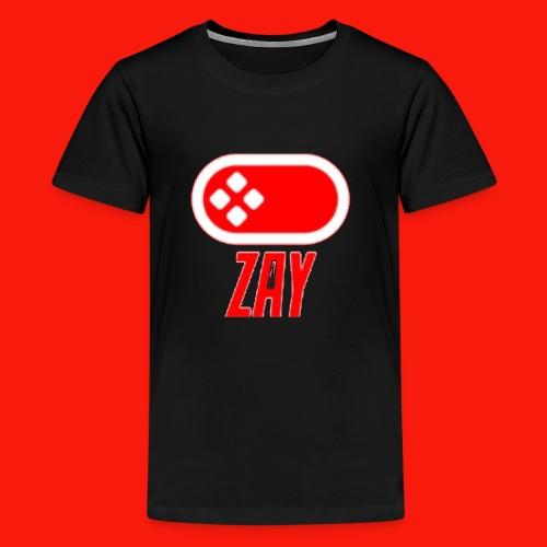 Zay logo - Kids' Premium T-Shirt
