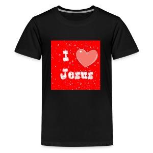 i heart jesus - Kids' Premium T-Shirt