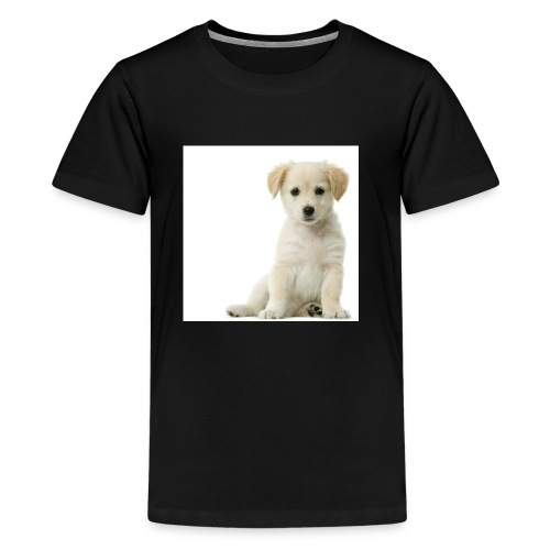 A Cute Puppy - Kids' Premium T-Shirt