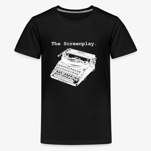 Full Logo (WHITE) - Kids' Premium T-Shirt