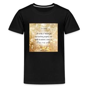 Abundance - Kids' Premium T-Shirt