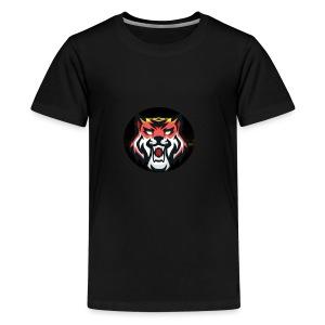 Tiger Playz merch - Kids' Premium T-Shirt