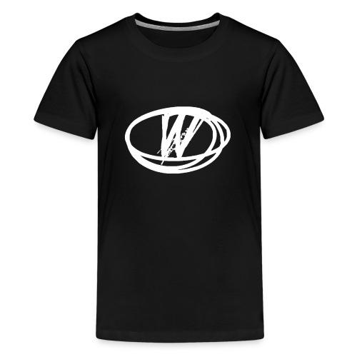 wow design white - Kids' Premium T-Shirt