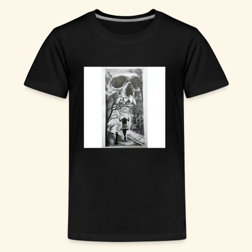 HAUNTED - Kids' Premium T-Shirt
