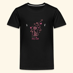 cattt - Kids' Premium T-Shirt