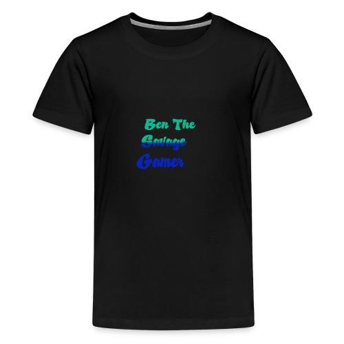Ben 2rd logo - Kids' Premium T-Shirt